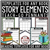 Reading Strategy Story Elements Graphic Organizers Teach-Go Pennants Book Review
