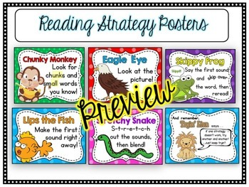 Reading Strategies Super Bundle: 5 Strategy Packs Plus Bonus Pack!