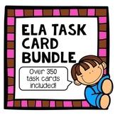 Reading Skills Scoot Task Card Bundle for grades 2-3