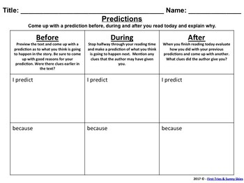 Reading Strategy Templates (7 Strategies - Cause & Effect, Summarizing & More!)