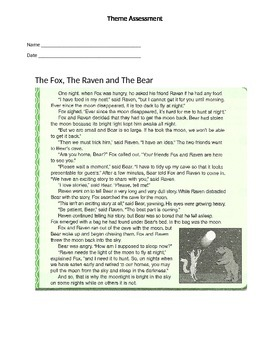 Reading Strategy Theme Assessment 2