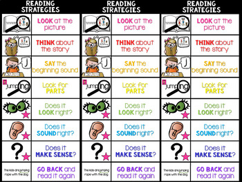 Reading Strategy Tools BUNDLE