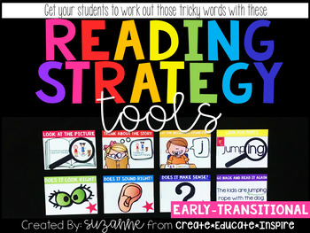 Reading Strategy Tools EARLY-TRANSITIONAL