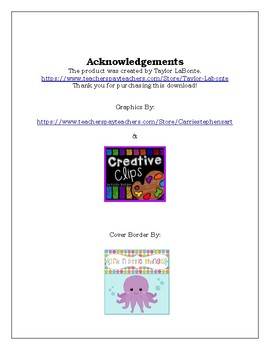 Reading Strategy Worksheet: Collecting New Words