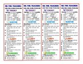 Reading Strategy and Annotation Bookmarks