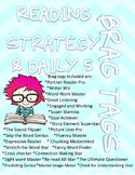 Reading Strategy and Daily 5 Brag Tags