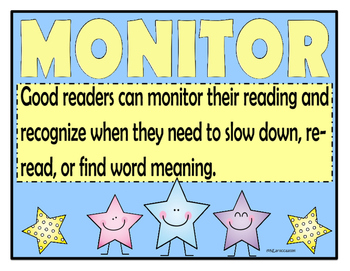 Reading Strategy and Skill Posters for Guided and Shared Reading