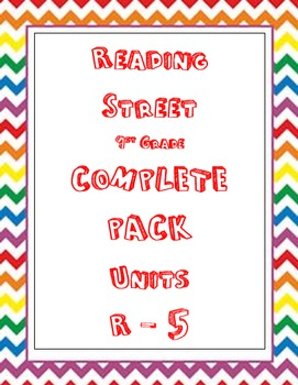 Reading Street 1st Grade COMPLETE Resource Bundle