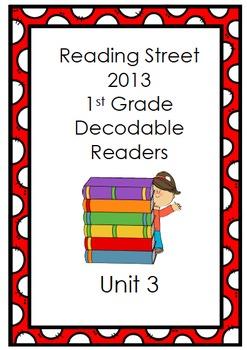 Reading Street 1st Grade Decodable Stories (Unit 3)