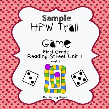Reading Street 1st Grade High-Frequency Word Trail Game ..