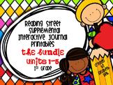 Reading Street 1st Grade Interactive Reading Journal Bundle: Units 1-5