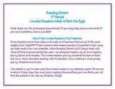 Reading Street 1st Grade Leveled Readers Unit 1: Get the Egg!
