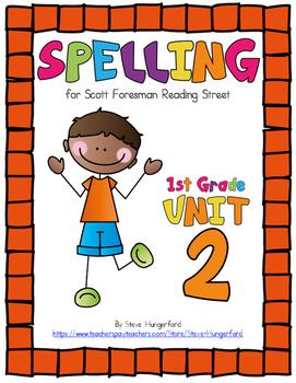 Reading Street, 1st Grade Spelling Materials, Unit 2