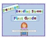 2011 Reading Street - 1st Grade Unit 1 Week 1 Target Skill