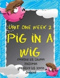 Reading Street 1st Grade Unit 1 Week 2 Pig in a Wig
