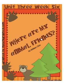 "Reading Street ""Where Are My Animal Friends?""  SMARTboard  Unit 3 Week 6"