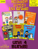 Reading Street 1st Grade Unit 4 Stories Bundled! {2008}