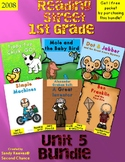 Reading Street 1st Grade Unit 5 2008 Stories Bundled