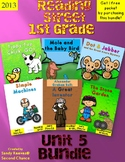 Reading Street 1st Grade Unit 5 2013 Bundled!
