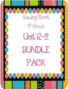 Reading Street 1st Grade Unit R-2 BUNDLE