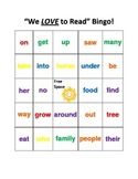 Reading Street 1st grade Unit 1 and 2 Bingo
