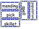 Grade 3 Units 1-6 Vocabulary word cards for Reading Street (2008)