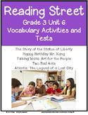 Reading Street Vocabulary Unit 6 Grade 3