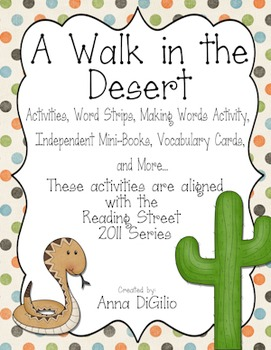 Reading Street - A Walk in the Desert