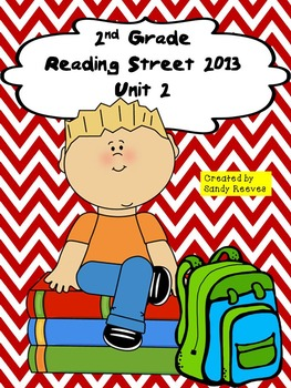 Reading Street 2013 2nd Grade Unit 2 Stories Bundled Tara and Tiree and more!