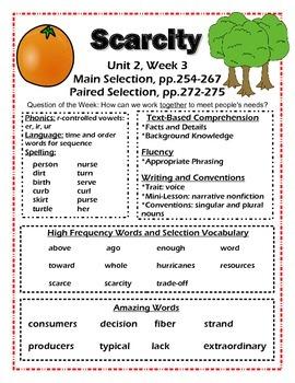 Reading Street 2nd grade unit 2 (Common Core)