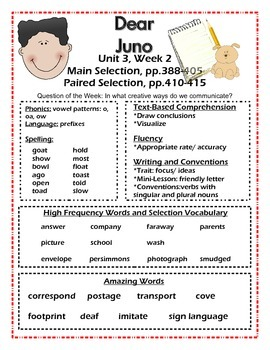 Reading Street 2nd grade unit 3 (Common Core)