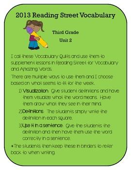 3rd Grade Reading Street 2013 Unit 2 Vocabulary and Amazin