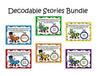 Reading Street 2013 Decodable Reader Stories and Activities Bundle