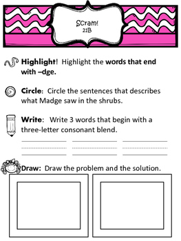 Reading Street 2013 Decodable Readers and Practice Questions (Unit 4)