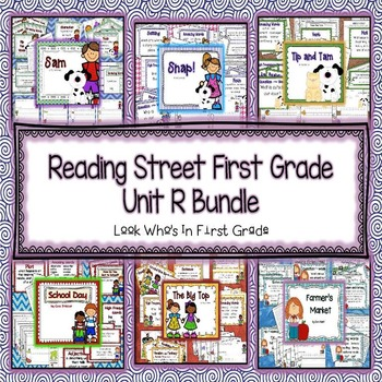 Reading Street 2013 First Grade Unit R Bundle