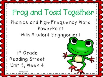 1st Grade Interactive Powerpoint, Frog and Toad Together