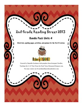 Reading Street 2013 Grade 2, Unit 4 Bundle Pack