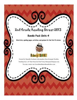 Reading Street 2013 Grade 2, Unit 4 Bundle Pack