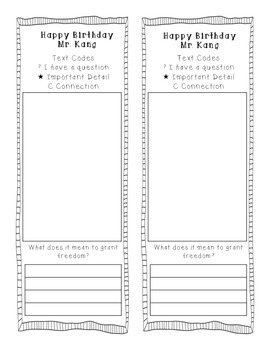 Reading Street 2013 Grade 3 Unit 6 Text Coding Bookmarks