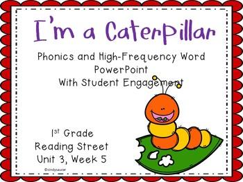 1st Grade Interactive Powerpoint, I'm a Caterpillar