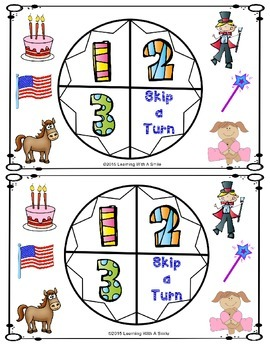 Reading Street 2013 - LET'S PLAY Partner Game -Unit 4 - Print and Play - Grade 1