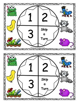 Reading Street 2013 - Let's Play Partner Game -Unit 3 - Print and Play - Grade 1