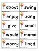 Reading Street - Mama's Birthday Present - POP! Word Game