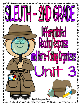Reading Street (2013) - SLEUTH - UNIT 3 - 2ND GRADE