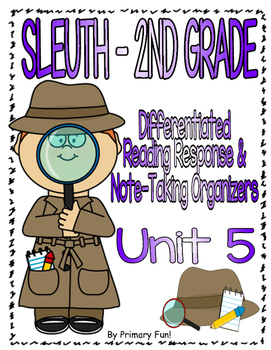 Reading Street (2013) - SLEUTH - UNIT 5 - 2ND GRADE