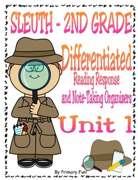 Reading Street (2013) SLEUTH - Unit 1 - 2nd Grade