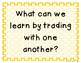 3rd Grade Reading Street 2013 Unit 1 Question of the Week