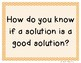 3rd Grade Reading Street 2013 Unit 2 Question of the Week