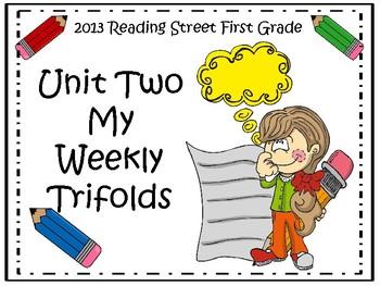 Reading Street 2013 Unit 2 Trifolds