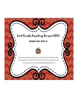 Reading Street 2013 Unit 3 Bundle Pack
